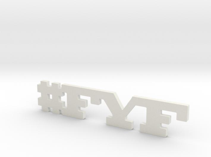 #FYF 3d printed