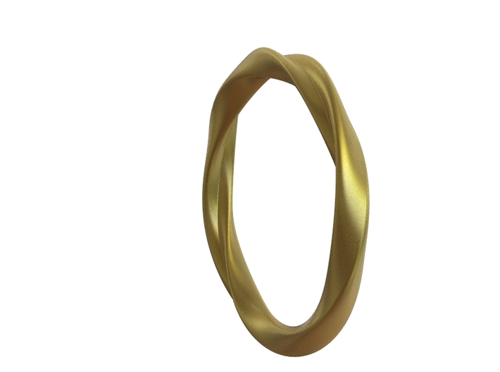 Ring - Two Love 3d printed