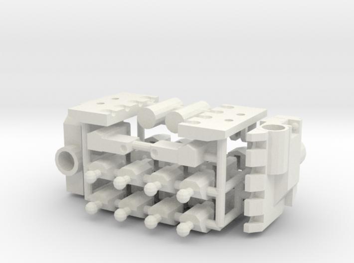 5mm Hands 3d printed