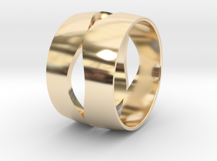 Ring 3 - Size 12 3d printed