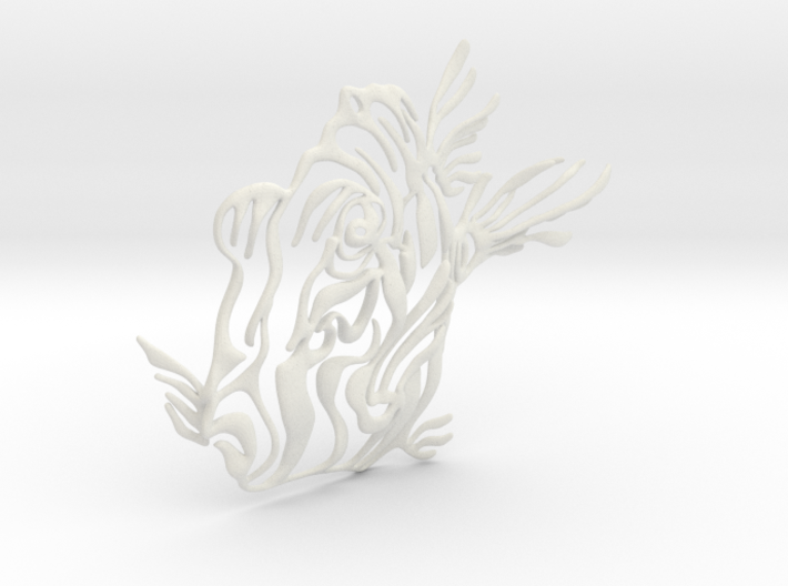 3d Fish Window Decoration 3d printed