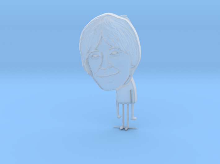 Professor Brian Cox - Dhusty Yewniverse 3d printed