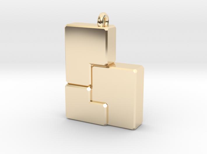 Golden b(ee) 3d printed