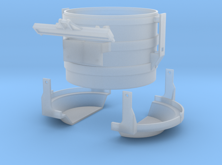 N-scale 16 ft Scrap Bucket 3d printed