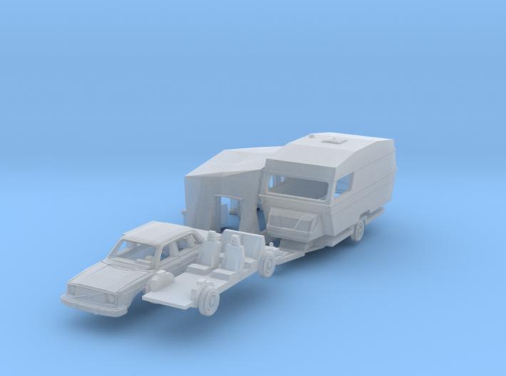 Camping Set (N 1:160) 3d printed