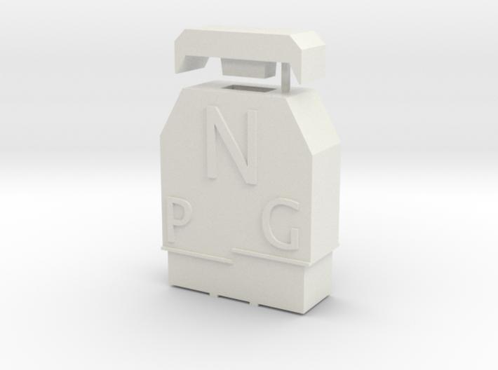 NEM 102 Umgrenzungsprofil (N 1:160) 3d printed