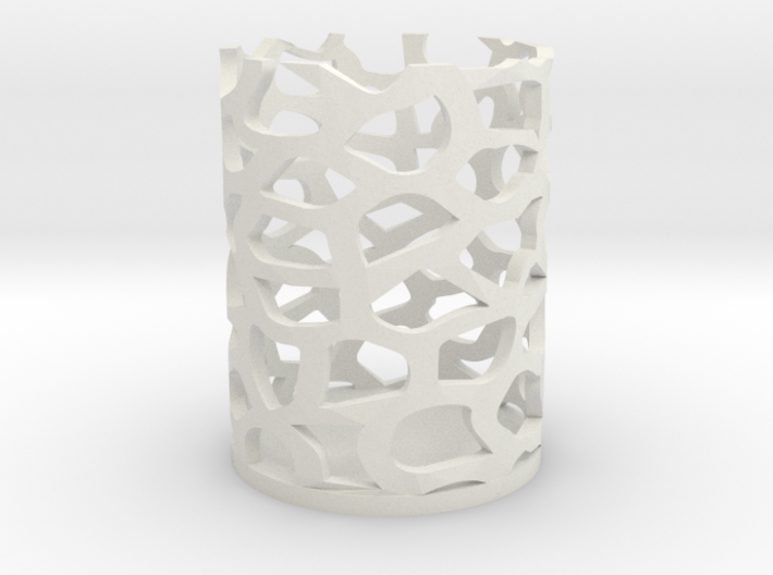 Coral Candle 3d printed