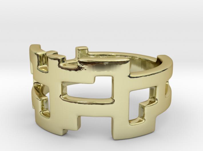 Ring Blocks 3d printed