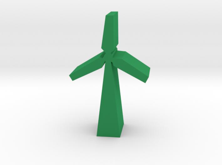 Game Piece, Wind Turbine 3d printed