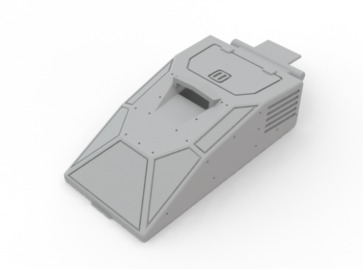 Hiss Canopy Armored 3d printed