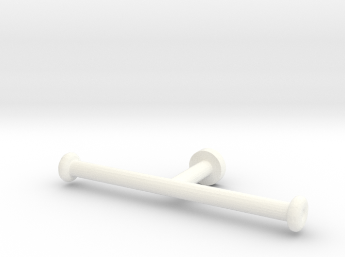 1:12 Toilet paper holder 3d printed