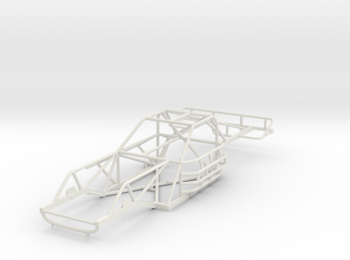 1/24th scale 80's Late Model Chassis 3d printed