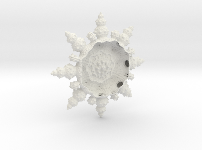 Fractal Bowl - From the depths of the C 3d printed