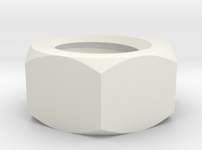 Nut for bolt 4mm 3d printed