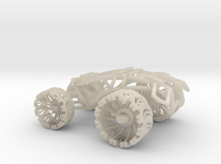 1piece Shoxx Leafspring V1 50% 3d printed