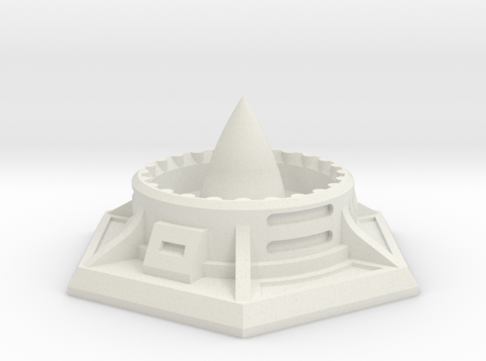 Missile Silo (25mm A/F) 3d printed