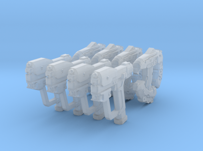 1:18 Sci-fi Sampler Pack 3d printed