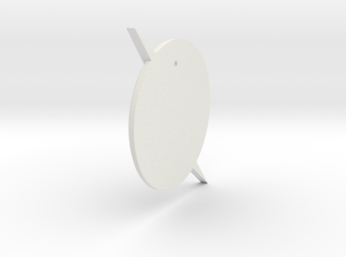 The Flash - Pendant (TV Flash) 3d printed