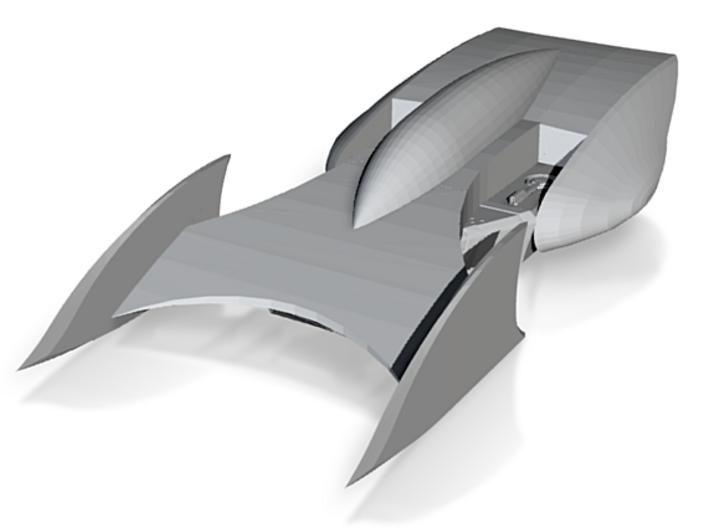 Batmobile Beyond 3d printed