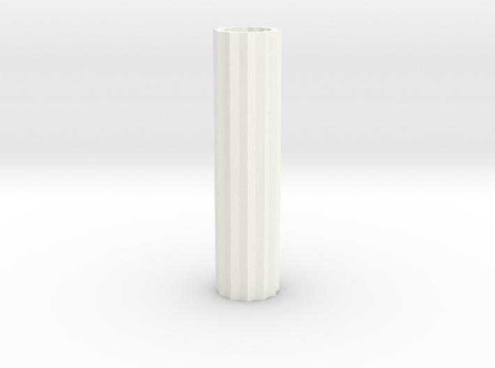 Cog Modern Vase Tall 1:12 scale 3d printed