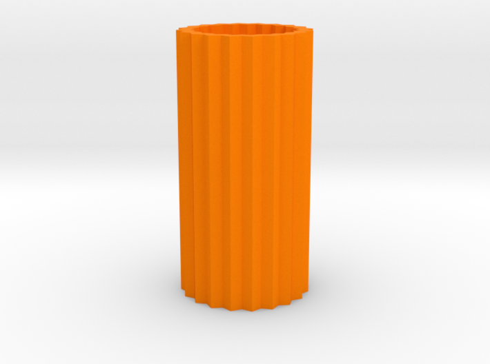 Cog Vase Short 1:12 scale 3d printed