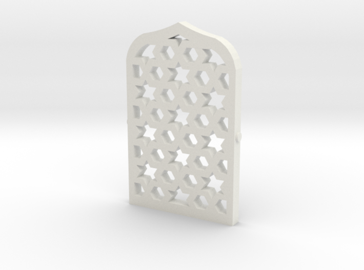 Arabian Window Lattice 3d printed