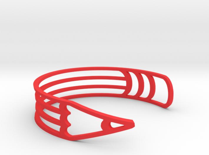 """Bracelet """"Pencil"""" 3d printed"""