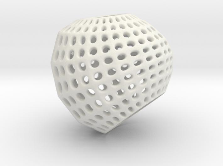 Inverted Golf Ball Pendant Light 3d printed