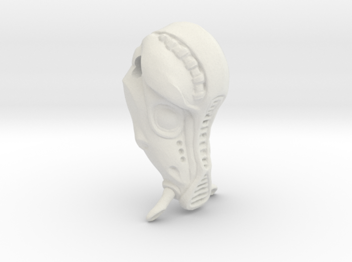 Fifth Element Mondoshawan Head Charm 3d printed