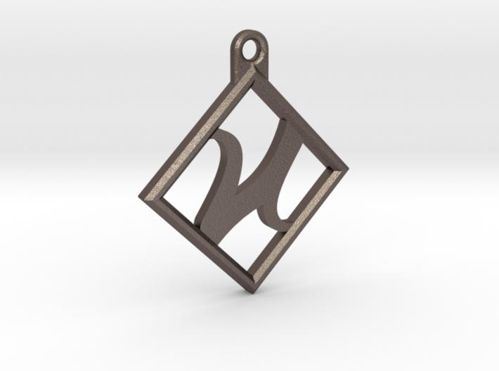 Kettenanhänger - Logo 3d printed