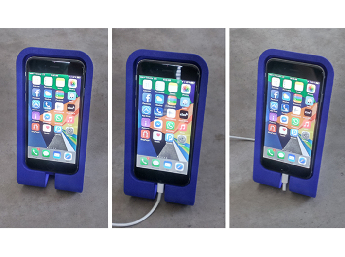 The BiPhone Stand (iPhone 6) 3d printed