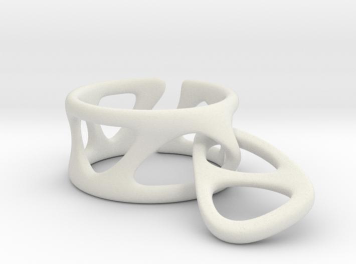 Drop Ring 3d printed