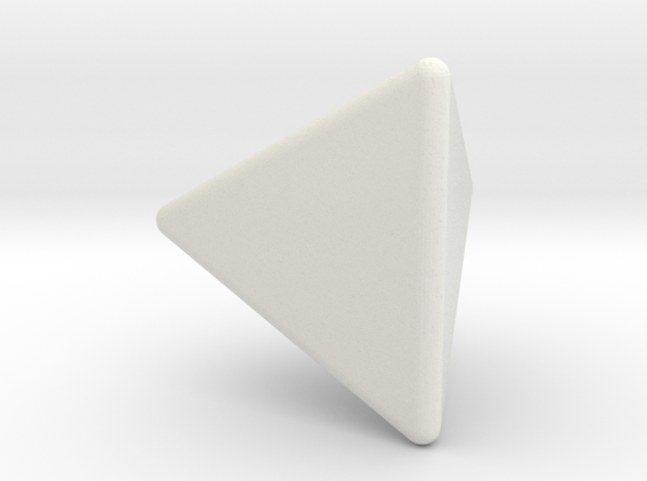 1x1x1 Pyraminx - Hollow 3d printed