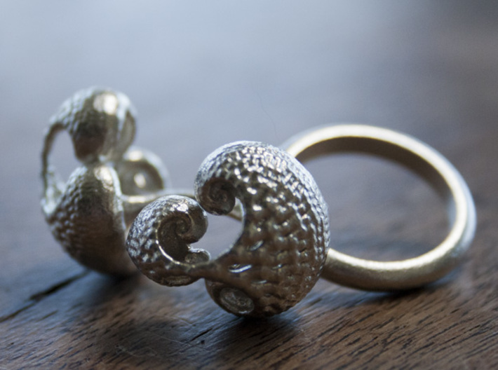 Infinite Duality Ring 16.2mm 3d printed