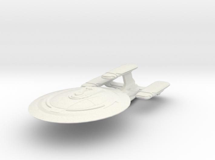DeltaRam Class Refit Cruiser (Big) 3d printed