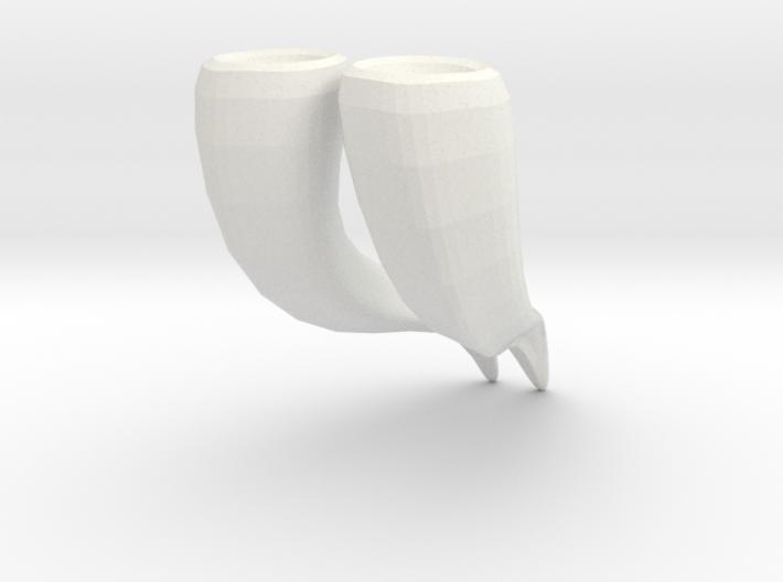 Minotaur Horns: SD BJD doll size 3d printed