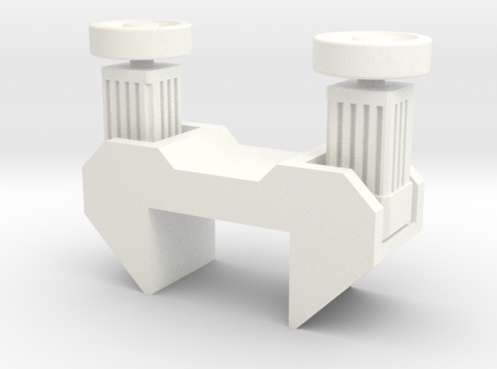 Transfer motor bloc small 3d printed
