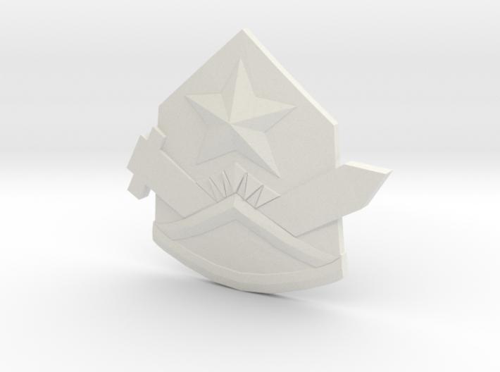 Samezuka Badge - Hat 3d printed