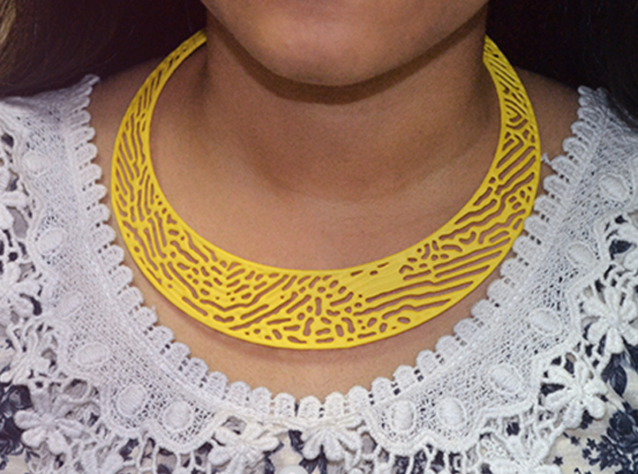 Necklace RD 3d printed