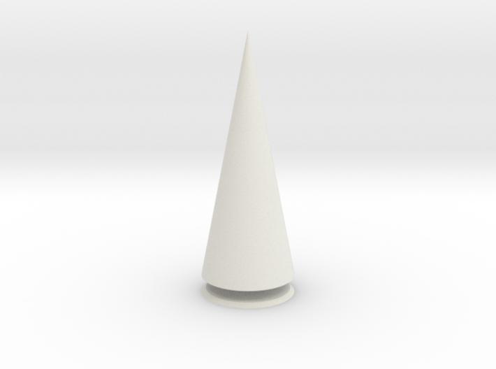Pyramis Rotunda Solida 3d printed