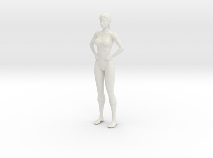 gym girl 3d printed
