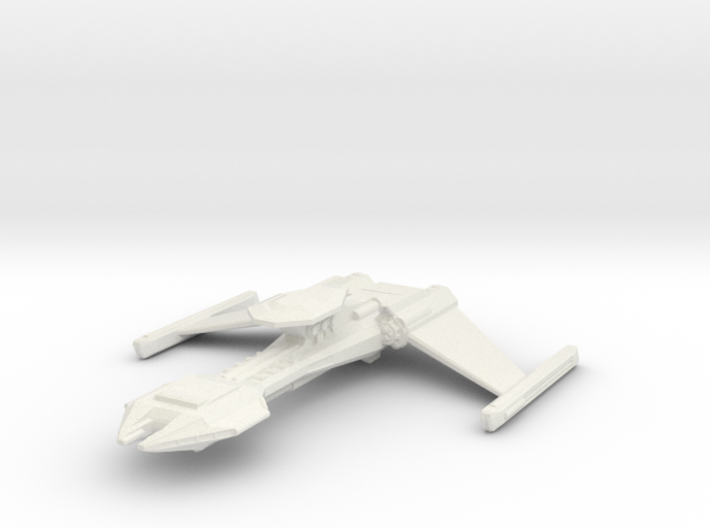 Klingon Gor class battle cruiser 3d printed