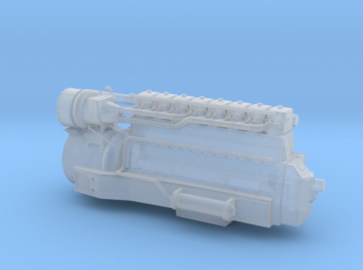 4mm Sulzer 8 LDA 28 3d printed