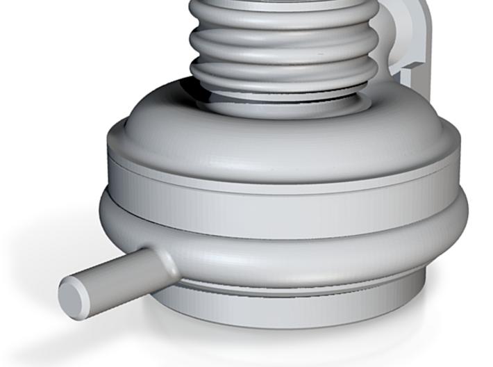 J-2 Engine LOX Dome (1:20) 3d printed