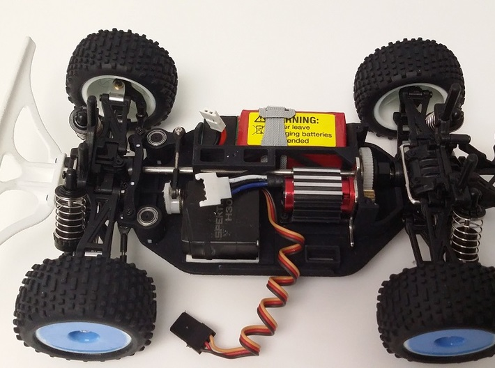 Losi Micro 1/24 Chassis Ver. B Wide 3d printed