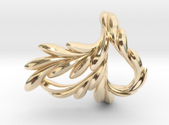 Fish Ring 3d printed