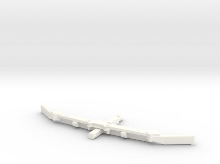 1/64 Alley scraper Blade 8' 3d printed
