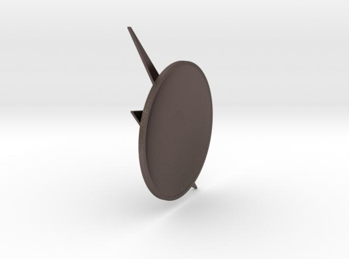 The Flash - Left Ear Bolt (TV Flash) -60mm 3d printed