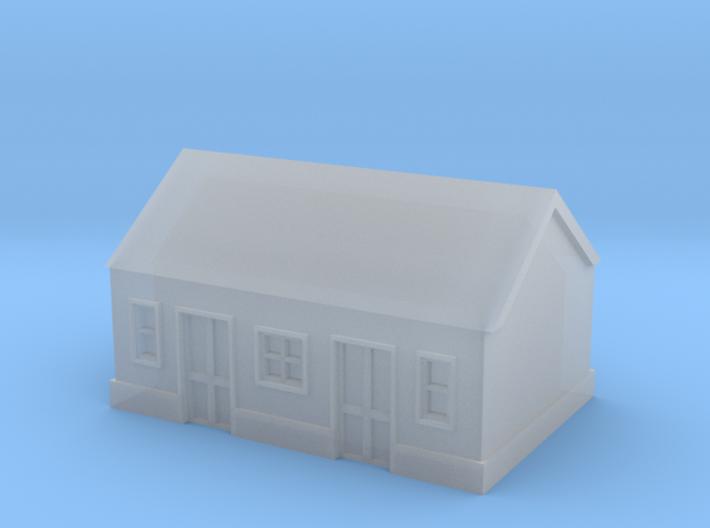 1/450 Station Building 3d printed Station Building - FUD