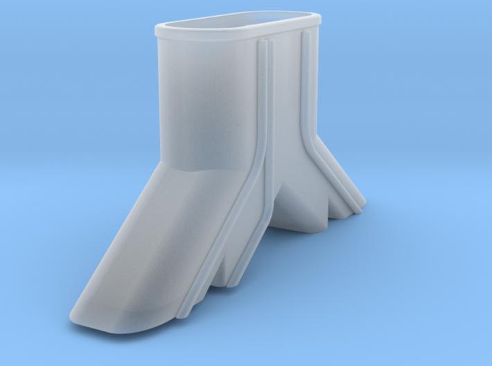 IJN Amagi Trunked Funnel 3d printed